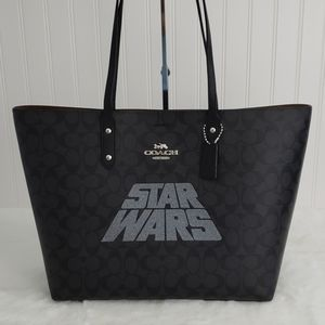 Coach Signature Star Wars Town Tote